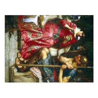 Jason y Medea del Waterhouse de Juan Postal