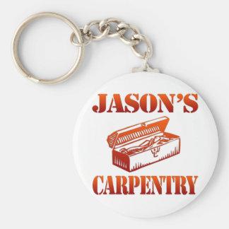 Jason's Carpentry Keychain
