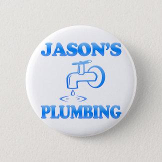 Jason's Plumbing Pinback Button