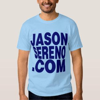 JasonSereno.com Tri-Level Logo Tees