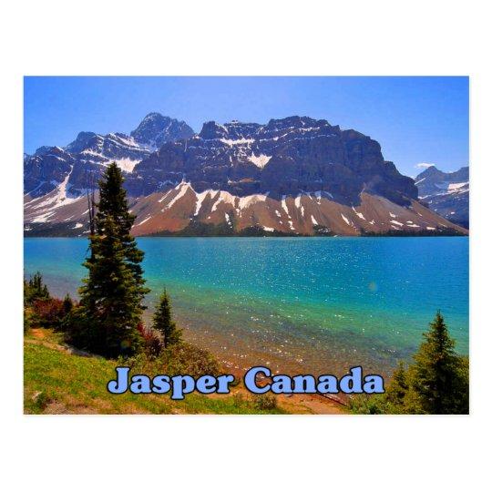 Jasper Alberta Canada Postcard