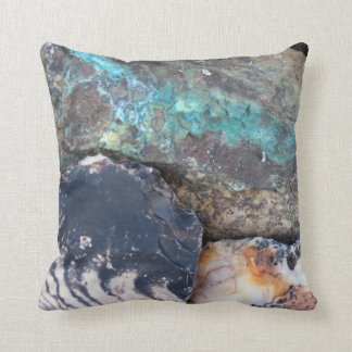 Jasper and Turquoise Pillow