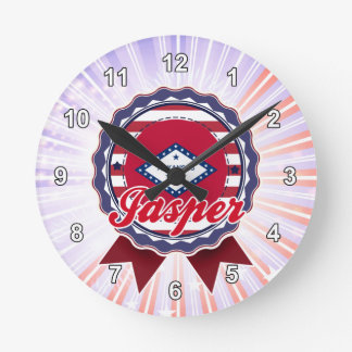 Jasper, AR Round Clock