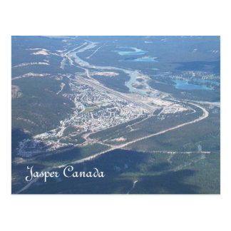 Jasper Canada Postcard
