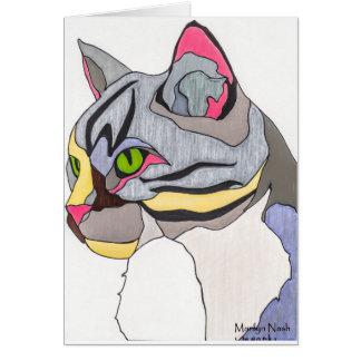 Jasper Cat Note Card