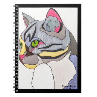 Jasper Cat Spiral Notebook