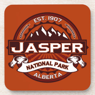 Jasper Crimson Beverage Coaster