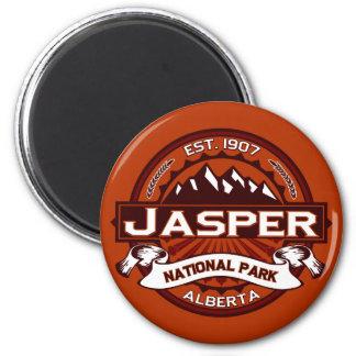 Jasper Crimson Magnet