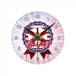 Jasper, FL Wall Clock