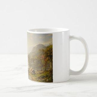 Jasper Francis Cropsey - Autumn on Greenwood Lake Coffee Mug
