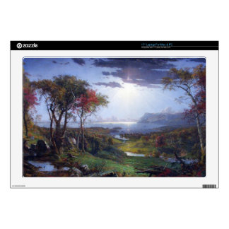 """Jasper Francis Cropsey - Autumn - On the Hudson Ri Decal For 17"""" Laptop"""