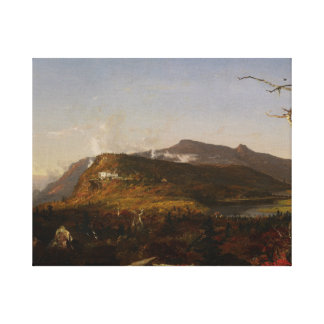 Jasper Francis Cropsey - Catskill Mountain House Canvas Print