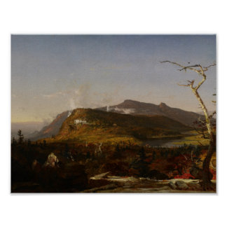 Jasper Francis Cropsey - Catskill Mountain House Poster