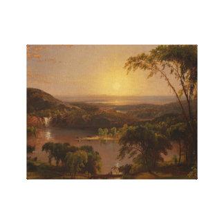 Jasper Francis Cropsey - Summer, Lake Ontario Canvas Print