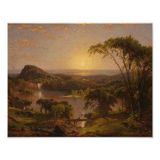 Jasper Francis Cropsey - Summer, Lake Ontario Photo Print