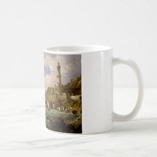 Jasper Francis Cropsey - The Coast of Genoa Coffee Mug