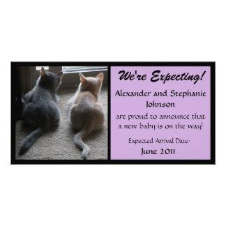 "Jasper & Kaylee ""We're Expecting"" Photo Card"