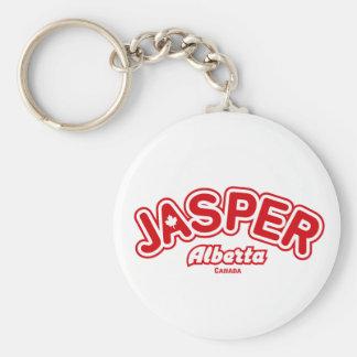 Jasper Leaf Keychain