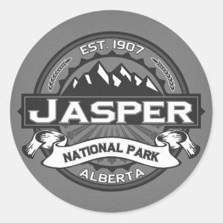 Jasper Logo Ansel Adams Classic Round Sticker