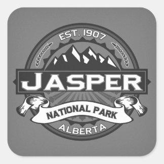 Jasper Logo Ansel Adams Square Sticker