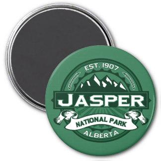 Jasper Logo Forest Magnet