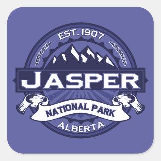 Jasper Logo Midnight Square Sticker