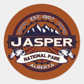 Jasper Logo Vibrant Classic Round Sticker