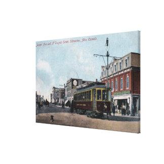 Jasper & McDougall Streets Canvas Print