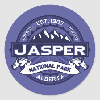 Jasper Midnight Classic Round Sticker