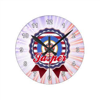 Jasper, MN Wall Clock