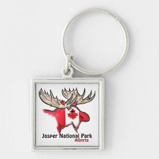 Jasper National Park Alberta Canada elk keychain