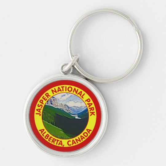 Jasper National Park, Alberta, Canada Keychain