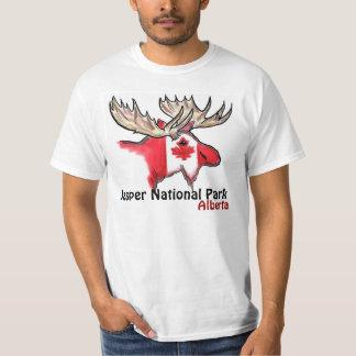 Jasper National Park Alberta Canada value elk tee