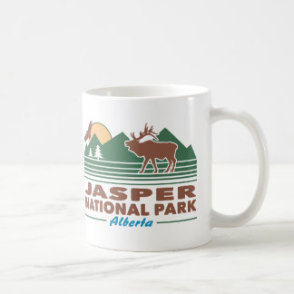 Jasper National Park Elk Coffee Mug