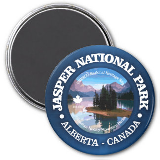 Jasper National Park (Lake Maligne) Magnet