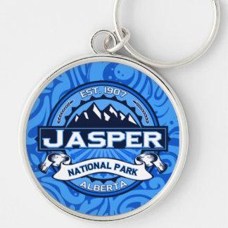 Jasper National Park Logo Keychain