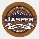 Jasper National Park Logo Sticker