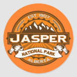 Jasper National Park Logo Stickers