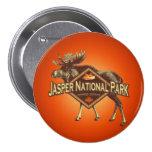 Jasper National Park Moose Buttons