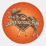 Jasper National Park Moose Sticker