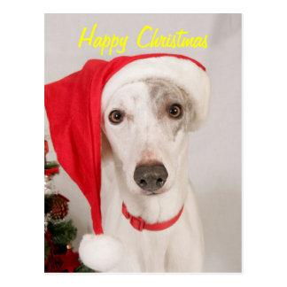 Jasper the Christmas Dog Postcard