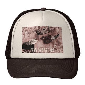 Jasper The Darling Pug Trucker Hats