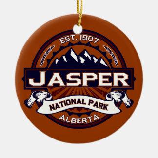 Jasper Vibrant Ceramic Ornament