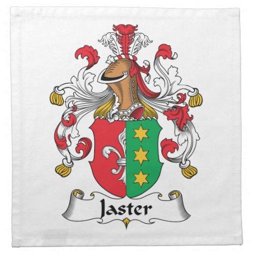Jaster Family Crest Napkins