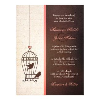 Jaula de pájaros imaginaria - chocolate y boda ros anuncio