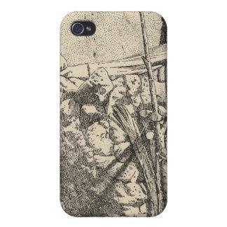 Jaula del águila de Zuni iPhone 4 Protectores
