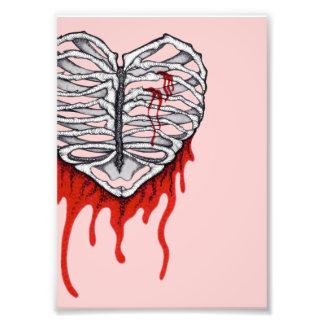 Jaula del corazón sangrante fotografias