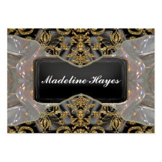 Jauncey Joy  Baroque 2.5 Elegant Professional Large Business Cards (Pack Of 100)
