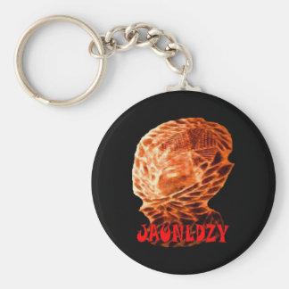 Jaunldzy Basic Round Button Keychain