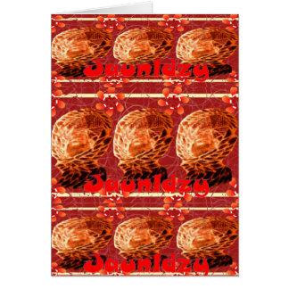 Jaunldzy Stationery Note Card